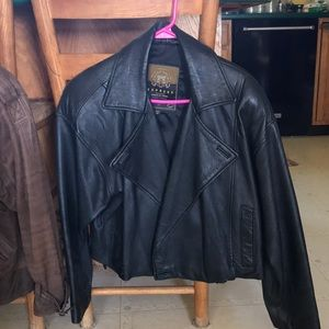 EXPRESS Avenue De L'Opera Leather Jacket